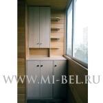 угловой шкаф на балкон фото
