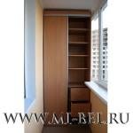 встроенные шкафы на лоджии фото